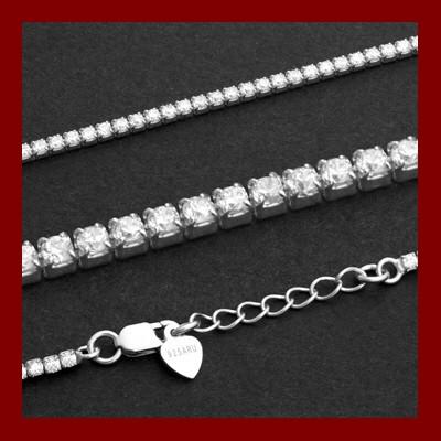 009250-200204-18--9250-18 Tennis-Armband 925/-