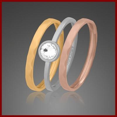 004636-900638-50--4636 Ring Set 3-teilig Edelstahl