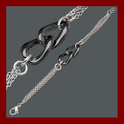 004869-900291-19--4869S-19 Armband  Edelstahl