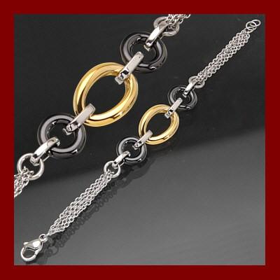 004845-910291-19--4845SVG-19 Armband  Edelstahl