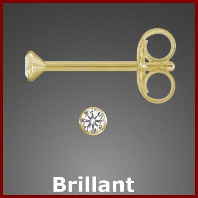 002795-400417--2795 Kelchstecker Brillant 585/-