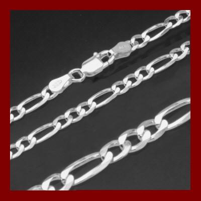 009101-250200-19--9101 Figaro- Armband 925/-