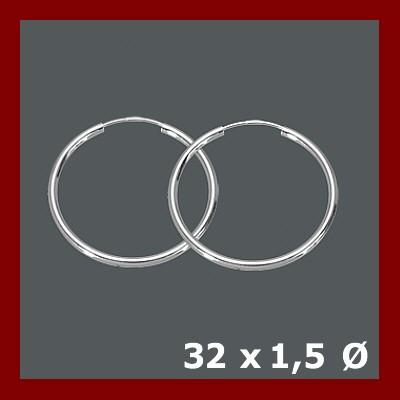 003136-251000--3136 925/- Rohrcreole 1,5/32 mm (VE 10Pr)