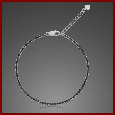 009250-200229-18--9250S-18 Tennis-Armband 925/-